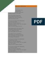 Texte de Chansons - Notre Dame de Paris