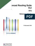 CP R75 AdvancedRoutingSuite CLI ReferenceGuide