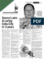 Sonny's aim