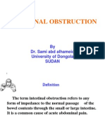 Lecture Intestinal Obstruction (01)Ppt