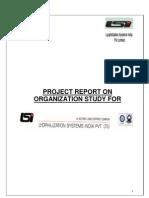 Project Report on Organization Study