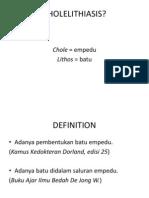 Ppt Refrat Cholelithiasis Naomi 08-076