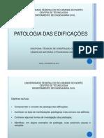 Patologia das Edificações