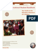 Peace Corps Masters International Student Guide  |  Revised 2011