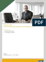 Master Guide SAP MII 12.2