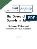The Status of the Sunnah in Islaam – by Imaam Al-Albaanee