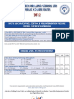 ADS 2012 Public Courses (Dates and Costs)