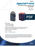 AlphaCell OPzS Brochure