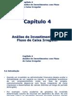Analise Fluxo Caixa Investimentos