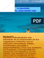 La Laberintitis Ps. Jaime Botello Valle