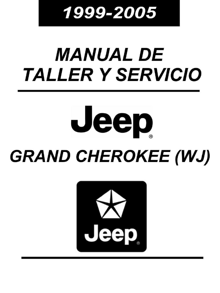 manual reparacion jeep grand cherokee 99