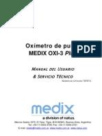 72747C OXI-3 PLUS Manual de Uso y Servicio Tecnico