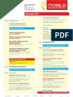 Conference Program Titles