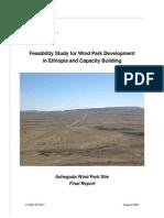 En Feasibility Study Wind Park Ashegoda 2006