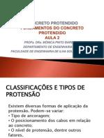 aula2 tipos de protensão