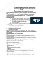 Diagnosis and Management of Febrile Neutropenia 4567
