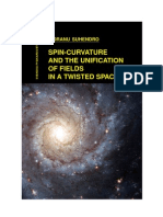 Spin-Curvature and the Unification of Fields in a Twisted Space