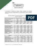 Guía Ejercicios N°1 Finanzas I