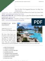 resort business plan sample pdf india