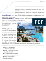 Hotel Resort Business Plan - Executive Summary, Company Summary, Market Analysis, Competitive Environment
