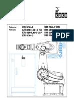 Especificaciones KUKA KR500