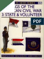265- Flags of the American Civil War. State & Volunteer