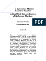 The Surjective Monad Theory of Reality (version 2)