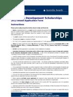 Ads Applicationform 2011