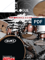 Mapex 2009 UK Catalogue