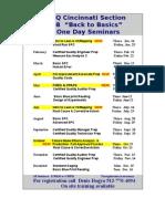 Cinti Schedule Jan 2008