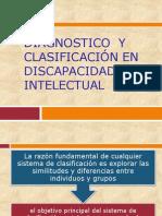 Diagnostico  y clasificación en discapacidad