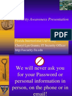 Security Awareness 2009