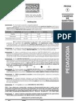 ENADE Pedagogia 2002 Questões Específicas