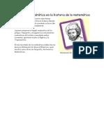 La Función Cuadrática en la historia de la matemática y ecuacion