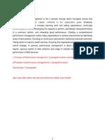 Perforance Management
