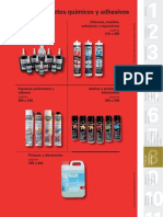 15bc309416dea Catálogo de Adhesivos y Productos Quimicos