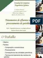 IQ 166 tratamento de efluentes no processamento de petróleo