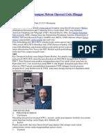 Sejarah Perkembangan Sistem Operasi Unix Hingga Linux