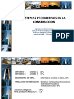 Sistemas Productivos en La Construccion Clase 1