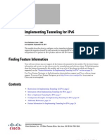 Implementing Tunneling for IPv6