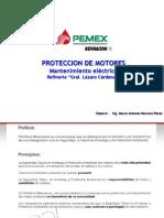 AJUSTES DE PROTECCIÓN DE MOTOR