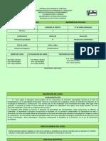 Programa de Aplicada I-2012