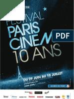 Paris Cinéma 2012 - dossier de presse