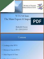 WTO & Iran
