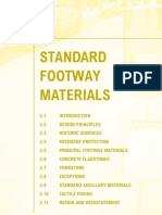 Islington Streetbook Section 3 Standard Footway Materials