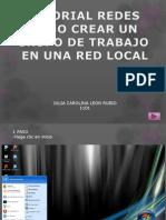 Manual Redes Grupo de Trabajo Julia Leon 1101