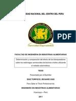 Determinacion y Comparacion Del Efecto de Los Blanqueadores Sobre Los Estomagos Semicocidos de Bovinos Criollos Utilizando El Metodo Colorimetrico