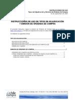 Directiva N 1 Uso Tipo de Adjudicaci n y OC