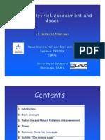 Presentation Radioactivity Risk Doses