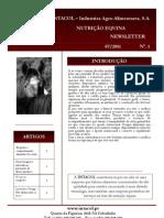 Newsletter Intacol #1